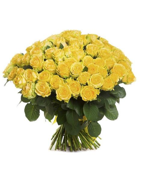 Bouquet of 101 yellow holland roses: delivery of flowers in