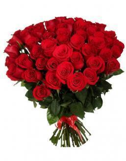 33 long red roses deluxe | Flowers to girlfriend flowers